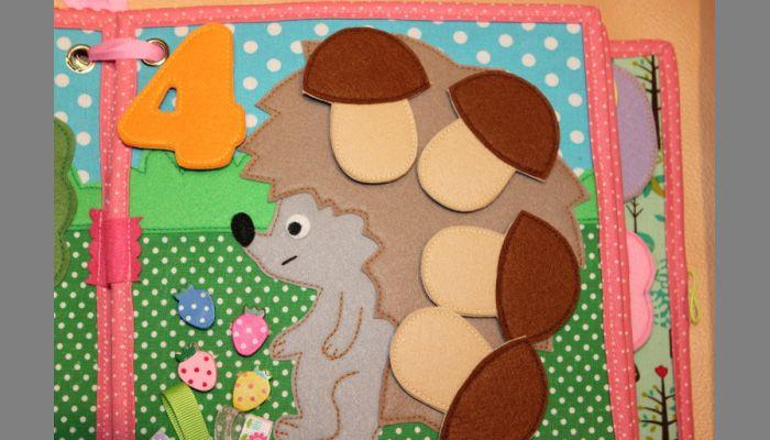 Мастерим развивающую мягкую книжку для малыша | Материнство - беременность, роды, питание, воспитание