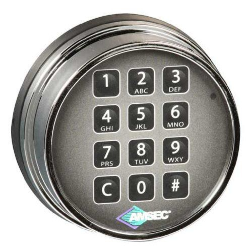 Amsec ESL10XL Series Electronic Safe Lock - http://safescenter.com/amsec-esl10xl-series-electronic-safe-lock/