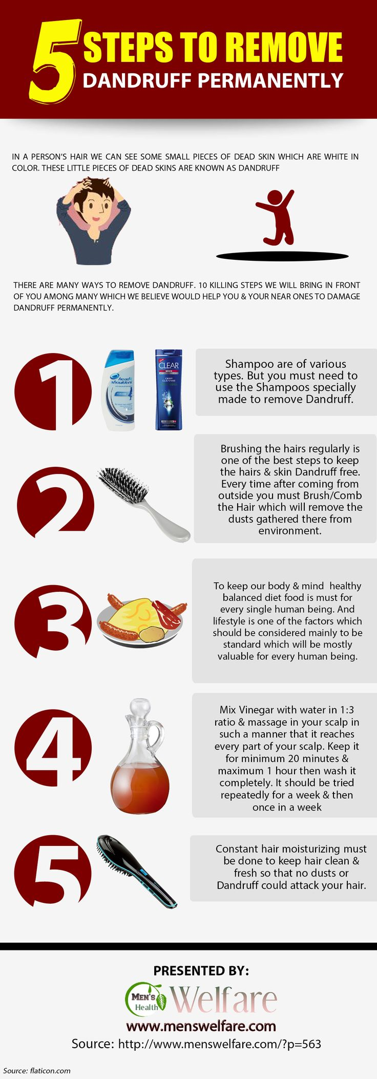 how to fix dandruff permantly