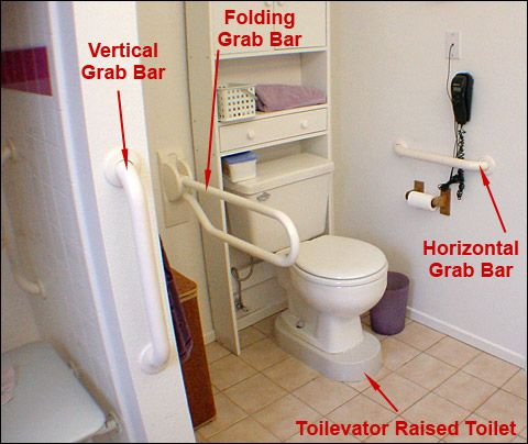 25 best ideas about grab bars on pinterest ada bathroom - Grab bars for toilet in bathrooms ...