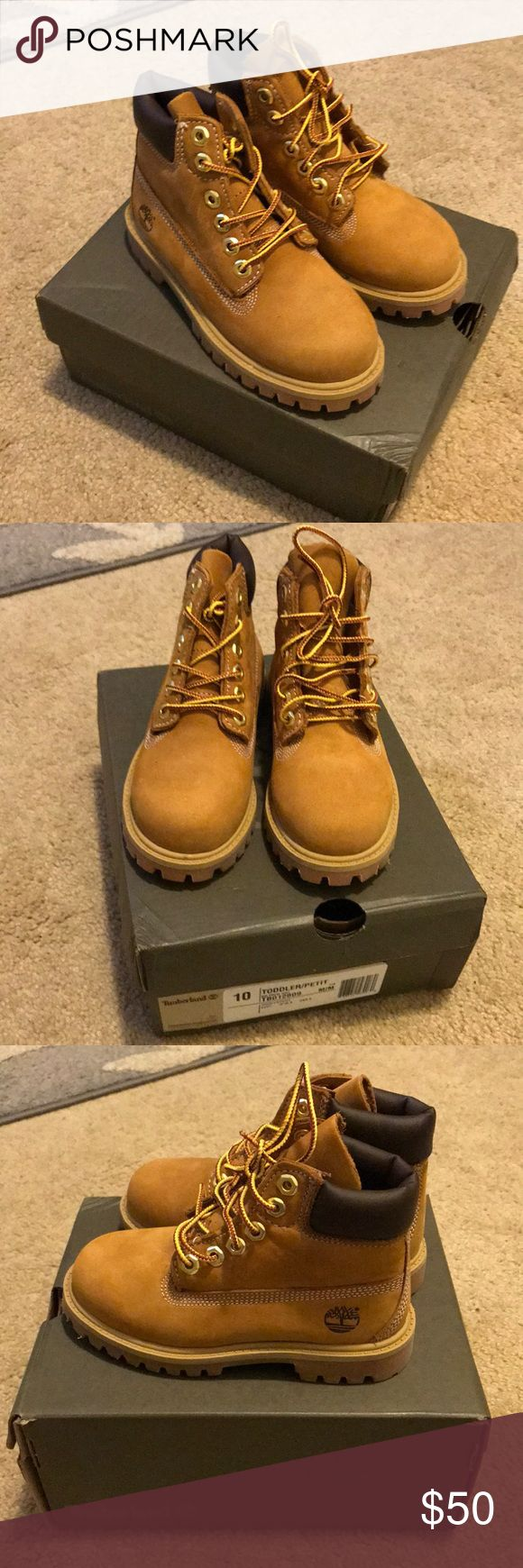 NWT! Toddler Timberland Boots NWT! Toddler Timberland Boots • Size 10 • 100% Waterproof • Never Worn • Excellent Condition Timberland Shoes Boots