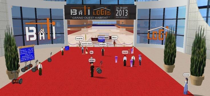 Inauguration du salon 3d Batilogis