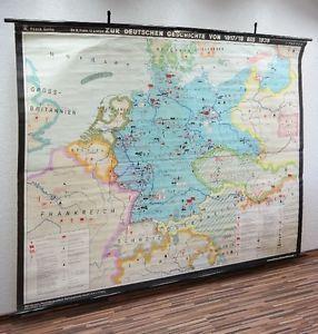 Alte-grosse-Lehrtafel-Zur-dt-Geschichte-1918-1939-Wandkarte-Rollkarte-DEKO