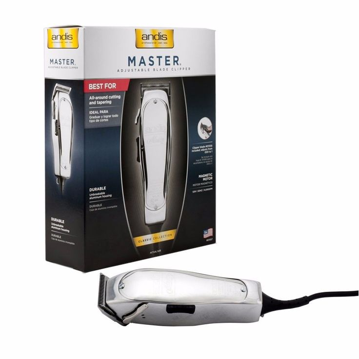Clippers and Trimmers: Brand New! Andis Master Hair Clipper Trimmer 01557 Improved Master Fader BUY IT NOW ONLY: $84.95