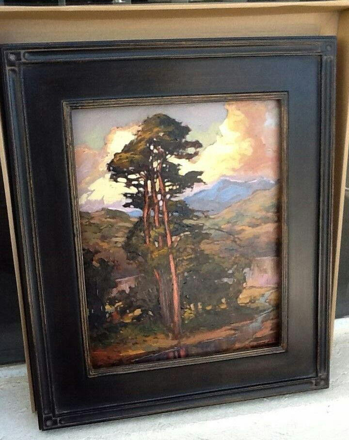 Jan Schmuckal - Original Oil on Board - Silent Auction Donation - Pasadena Heritage's Craftsman Weekend - The winner of the painting will be allowed to name it.
