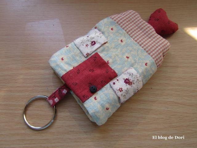 El blog de Dori: Como hice mi casita guarda llaves