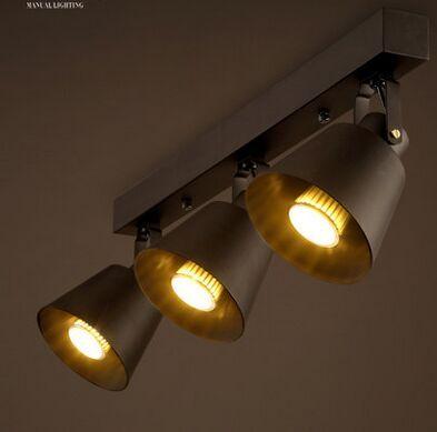 Ретро творческий магазин одежды лампы творческий ресторан лаунж-бар проход персонализированные дизайн трек внимания подвесные светильники.