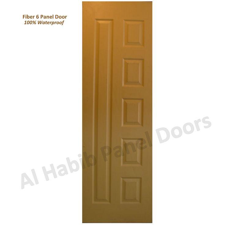 This is Fiber Six Panel Door. Code is Product of Doors - Fiber Doors in different design and colors. Al Habib  sc 1 st  Pinterest & 17 best Fiber Panel Doors images on Pinterest | Panel doors Fiber ...