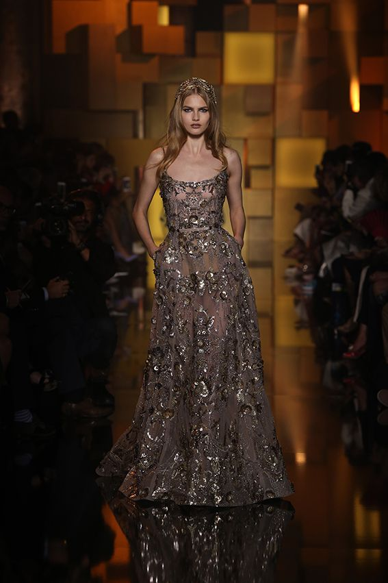 ELIE SAAB Haute Couture Autumn Winter 2015-16: