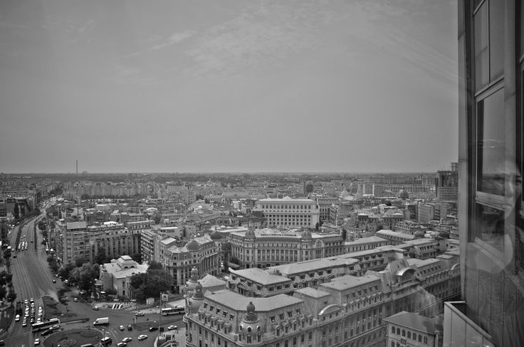 """Photograph """"Stalker in the glass"""" View from the Intercontinental Hotel in Bucharest, Romania. by Nick Laborde on 500px"""