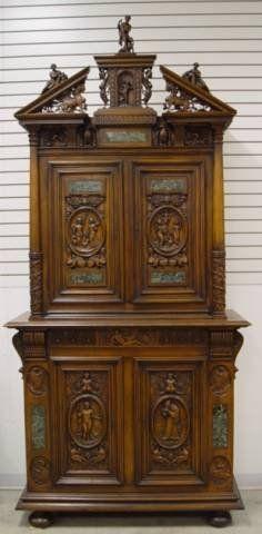 C1900 Beau Arts / Rennaissance,Karpen Furniture, Chicago, Wal, 106t, 7