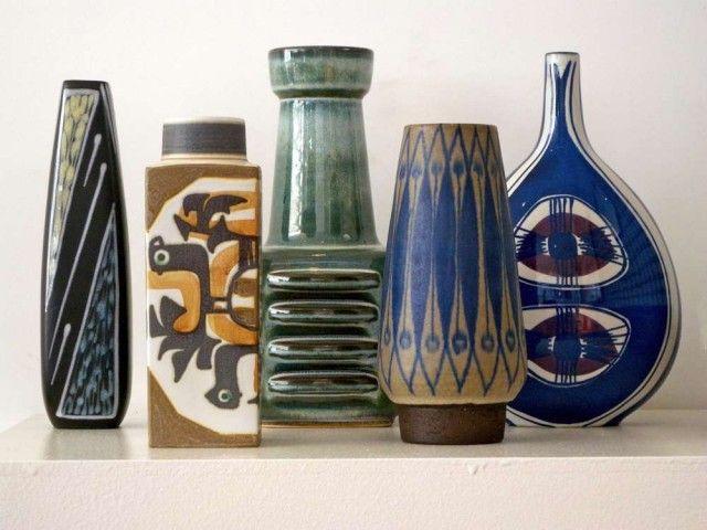 Selection of Danish midcentury pottery @ twenty21