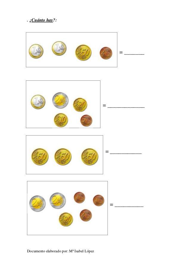 Fichas euros cuánto hay