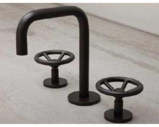 images of watermark faucets   Watermark Brooklyn Widespread Lavatory Faucet - 31-2.1-BK