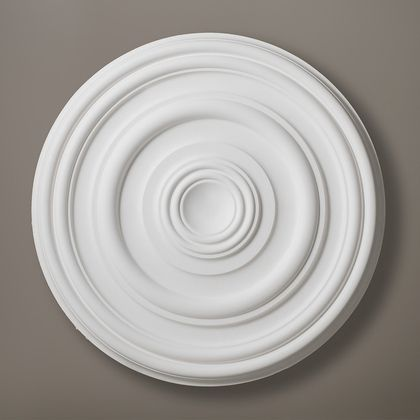 Premier Plain Plaster Ceiling Rose