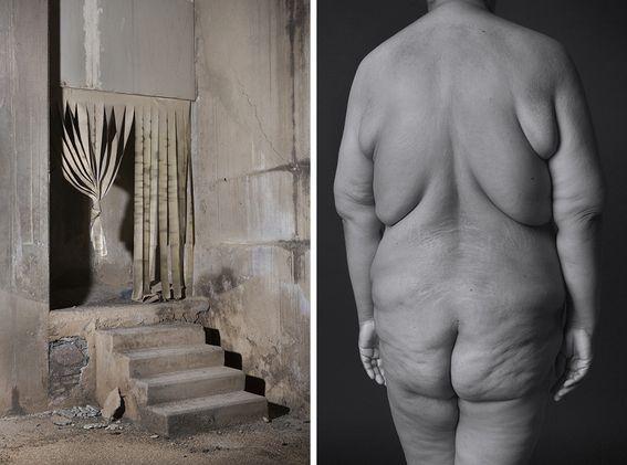 Jose Luis Cuevas realizó este Ensayo Fotográfico como un Homenaje para los cuerpos de los Obreros.