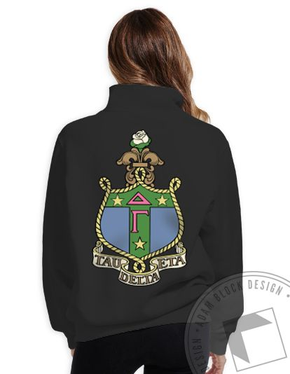 Delta Gamma - Crest Quarter Zip - $40 - Available until 4/19