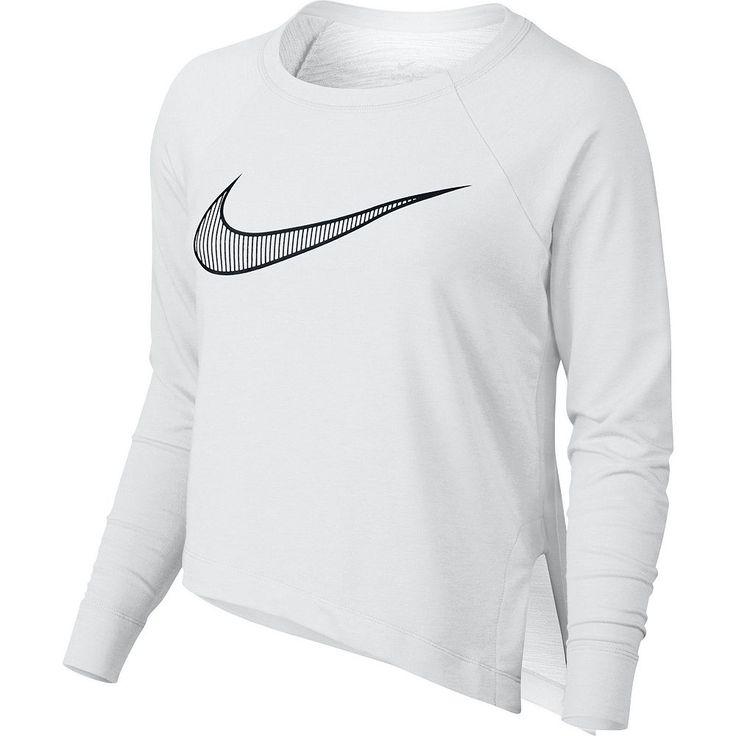 Women's Nike Training Cropped Top, Size: Medium, White