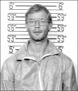 Saving the most twisted for the last, Jeffrey Dahmer is probably the most famous serial killer known in our country. Jeffrey Dahmer was the pure definition of evil. He was responsible for the murder, rape, and dismemberment of over 17 teenage boys. He was also known for his cannibalistic and necrophiliac tendencies.