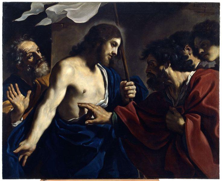 Incredulità di San Tommaso Guercino