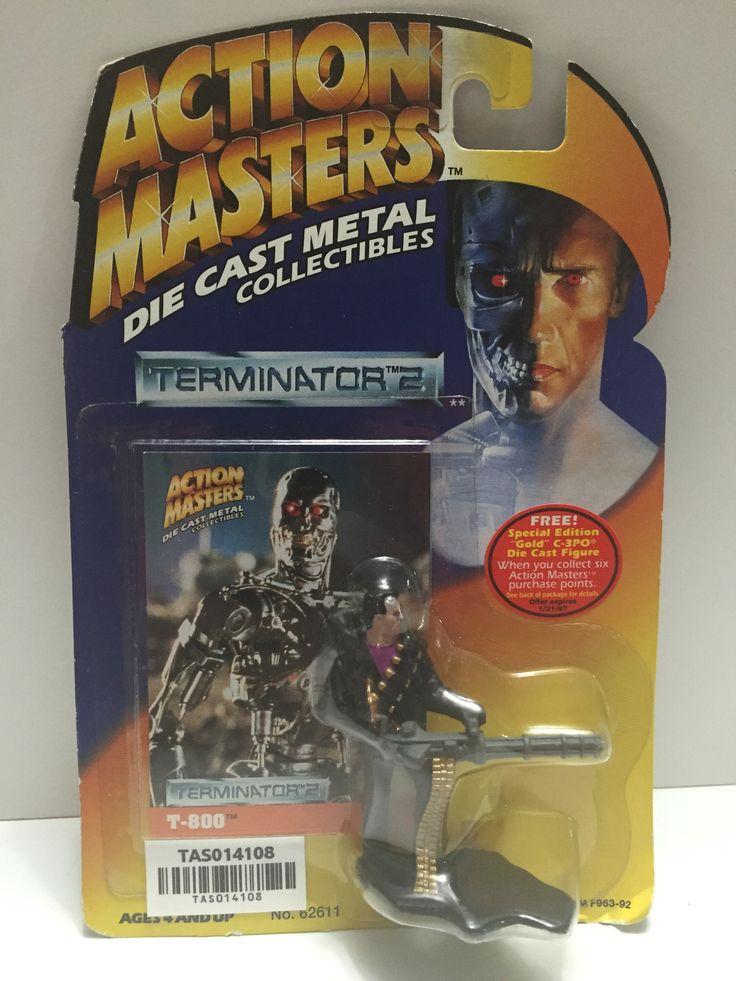 (TAS014108) - Action Masters Die Cast Metal Terminator 2 T-800