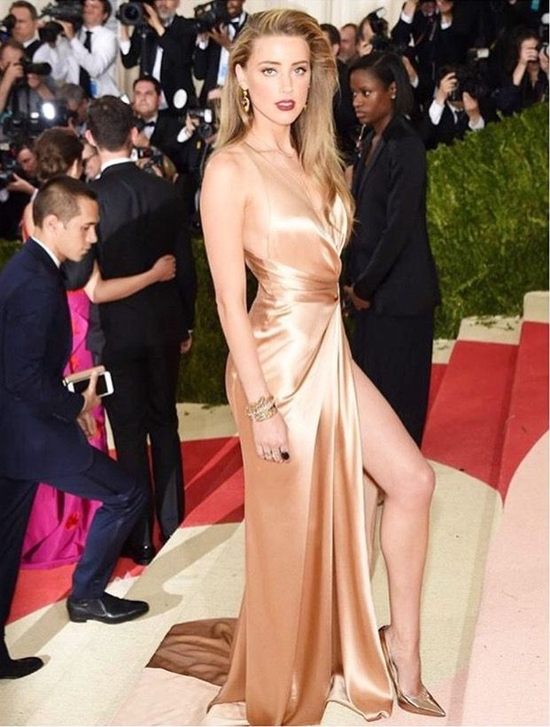 Amber Heard at 2016 Met Gala