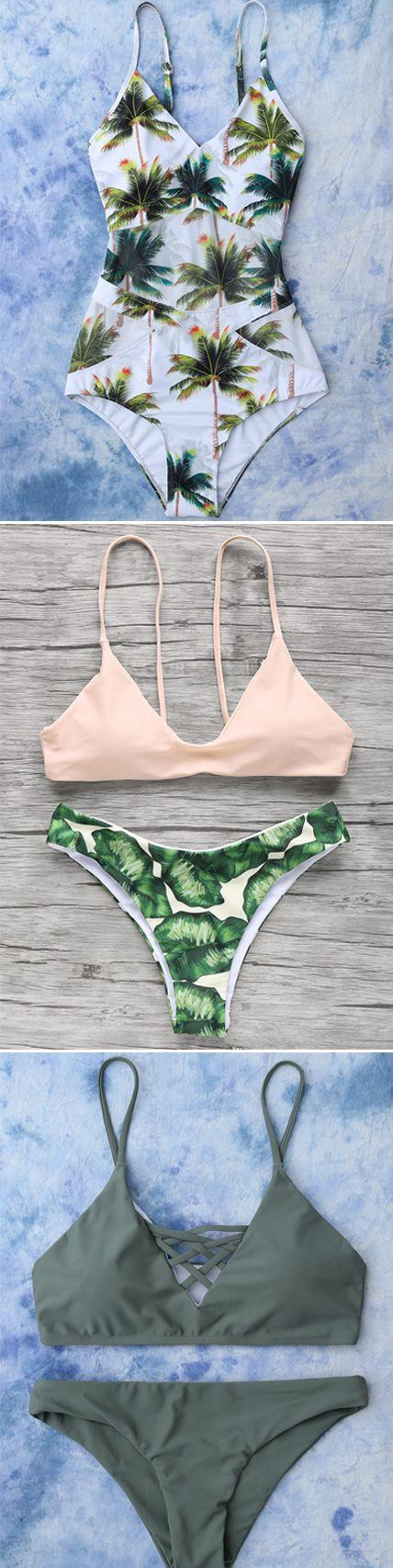 Touching the natural skin: Greenery Clothing | swimwear,bikini,one pieces,dress,dresses,tops,women fashion | #Greenery