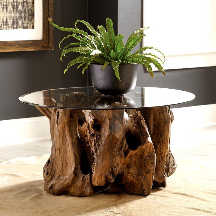 teak root coffee table perth