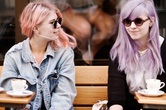 Pastel Shades And Pretty BraidsPurple Hair, New Hair, Colours Hair, Cotton Candies, Lilac Hair, Hair Chalk, Hair Trends, Pastel Hair, Hair Color