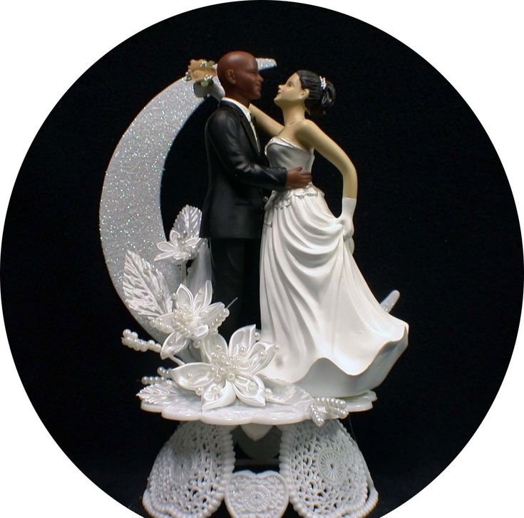 black man white woman wedding cake topper uk 17 best images about wedding cake toppers on 11870
