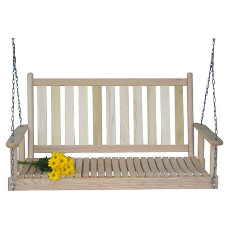 1000 images about front porch on pinterest - Wooden garden swing seat plans perfect tranquility ...