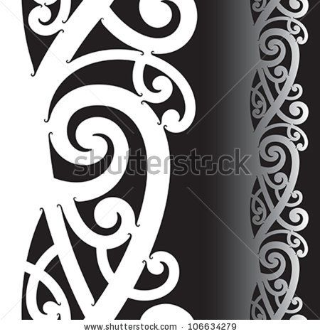 Vector Images, Illustrations and Cliparts: Maori styled tattoo ...