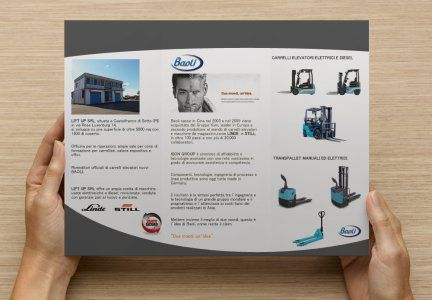 #FORKLIFT @carrellielevatori @forklift #carrellielevatori #baoli @baoli #liftup @liftup @brochure #brochure