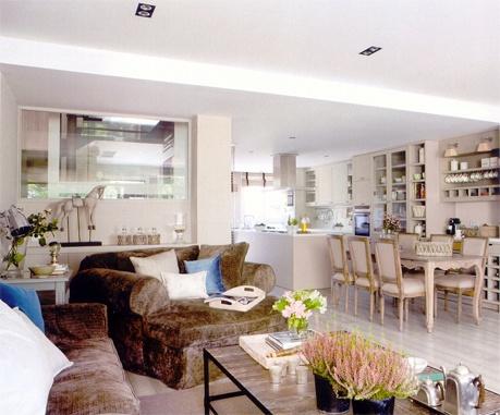 96 best images about coton et bois decor on pinterest - Decoracion salon comedor ...