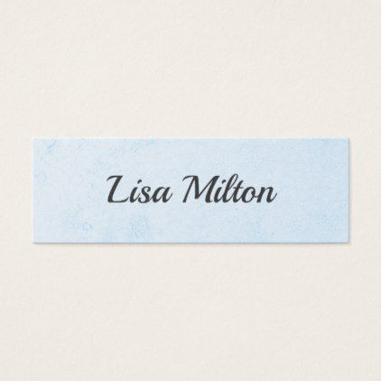 The 25 best clear business cards ideas on pinterest transparent simple elegant texture blue consultant networking mini business card reheart Choice Image