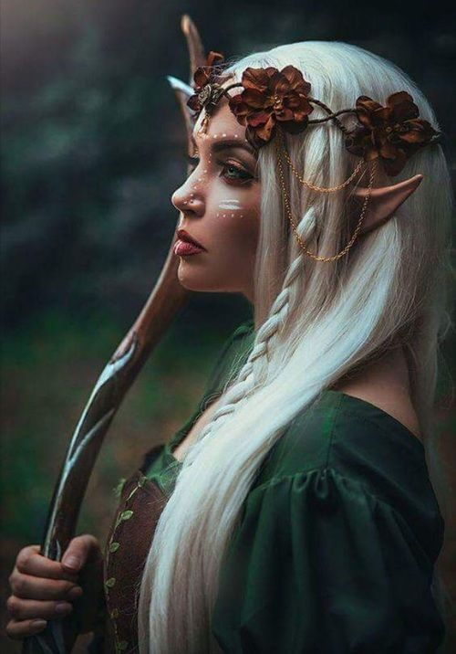 Imagen de fantasy, elf, and magic