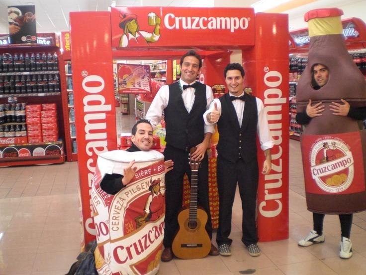Chirigota Bibidores #ideas #Cruzcampo. #2009 #TradeMarketing. http://www.lacaseta.com/cruzcampo-carnavales/
