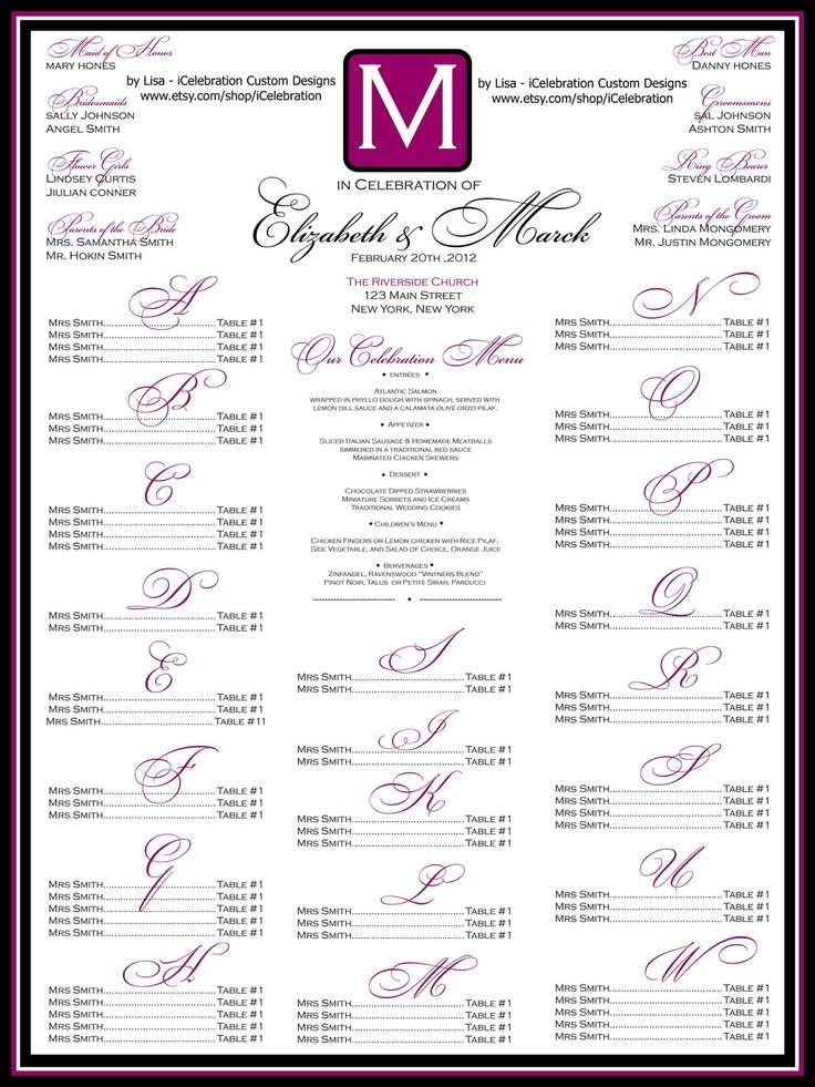 15 best Weddings for Friends images on Pinterest Wedding stuff - free seating chart template for wedding reception