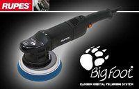 Rupes Bigfoot Exzenter Poliermaschine