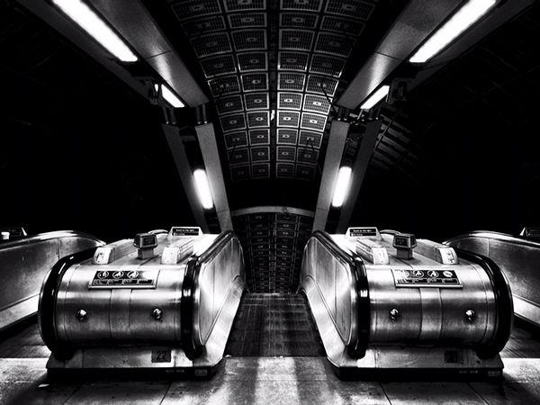 London Underground by Diego Ariza, via Behance