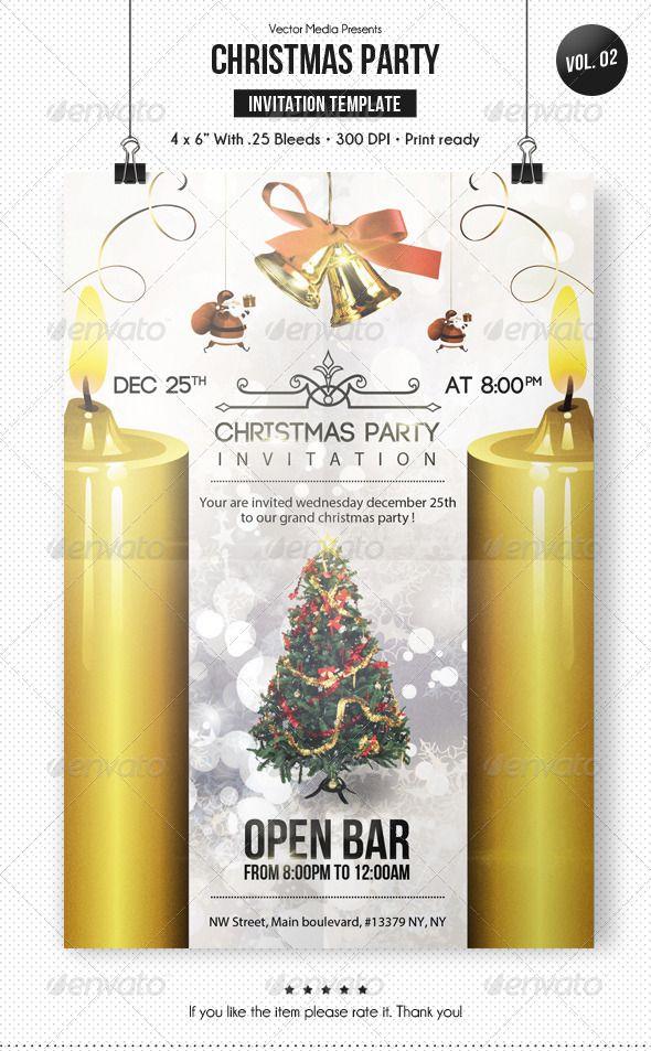 Christmas Party - Invitation [Vol.2]