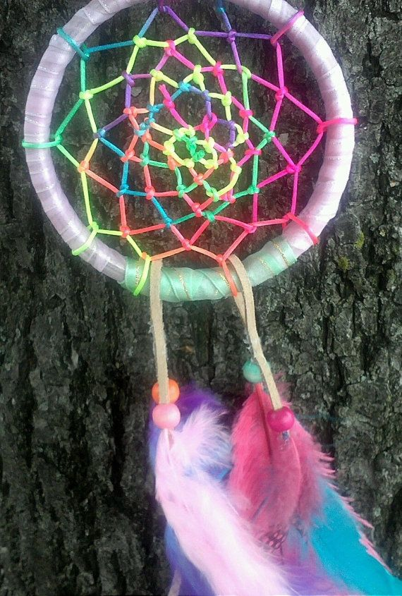summer love beautiful unique tie dye dream catcher by bellaluv987 ideas for the house. Black Bedroom Furniture Sets. Home Design Ideas