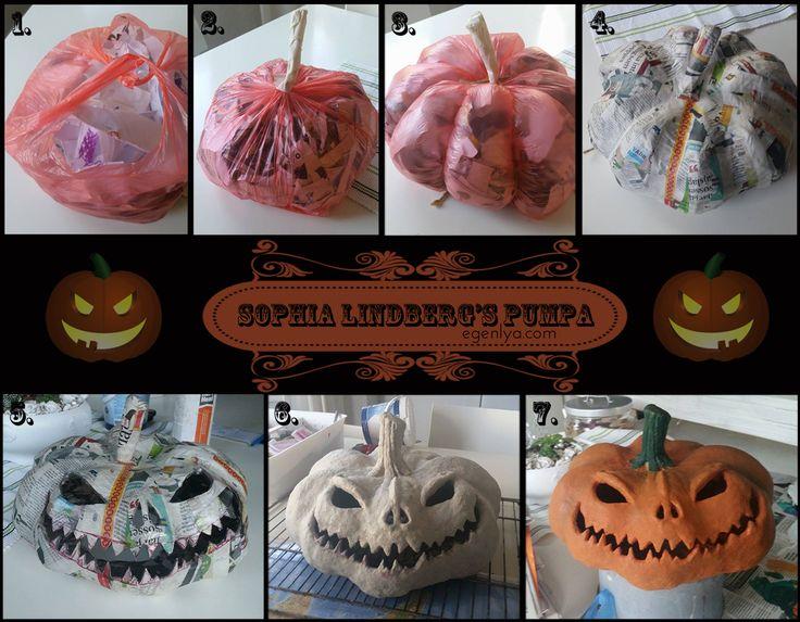 Egen Lya: Halloween-special: Gör din egna Pumpa