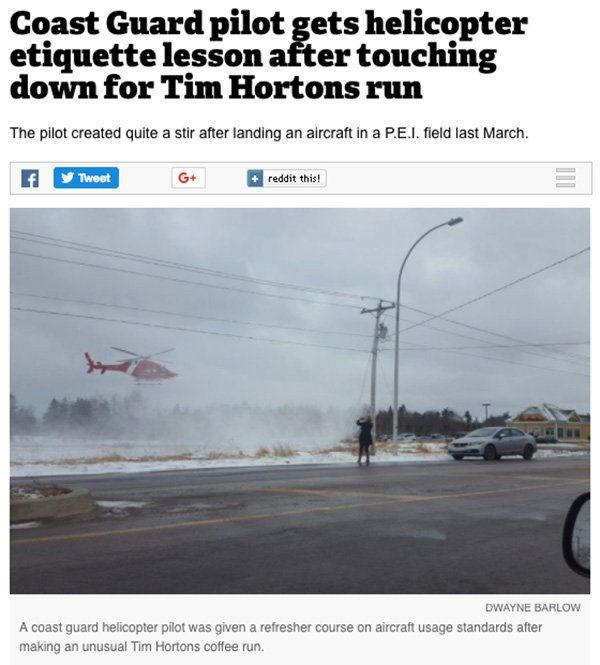 20 News Stories From Canada That Are Odd and Hilarious