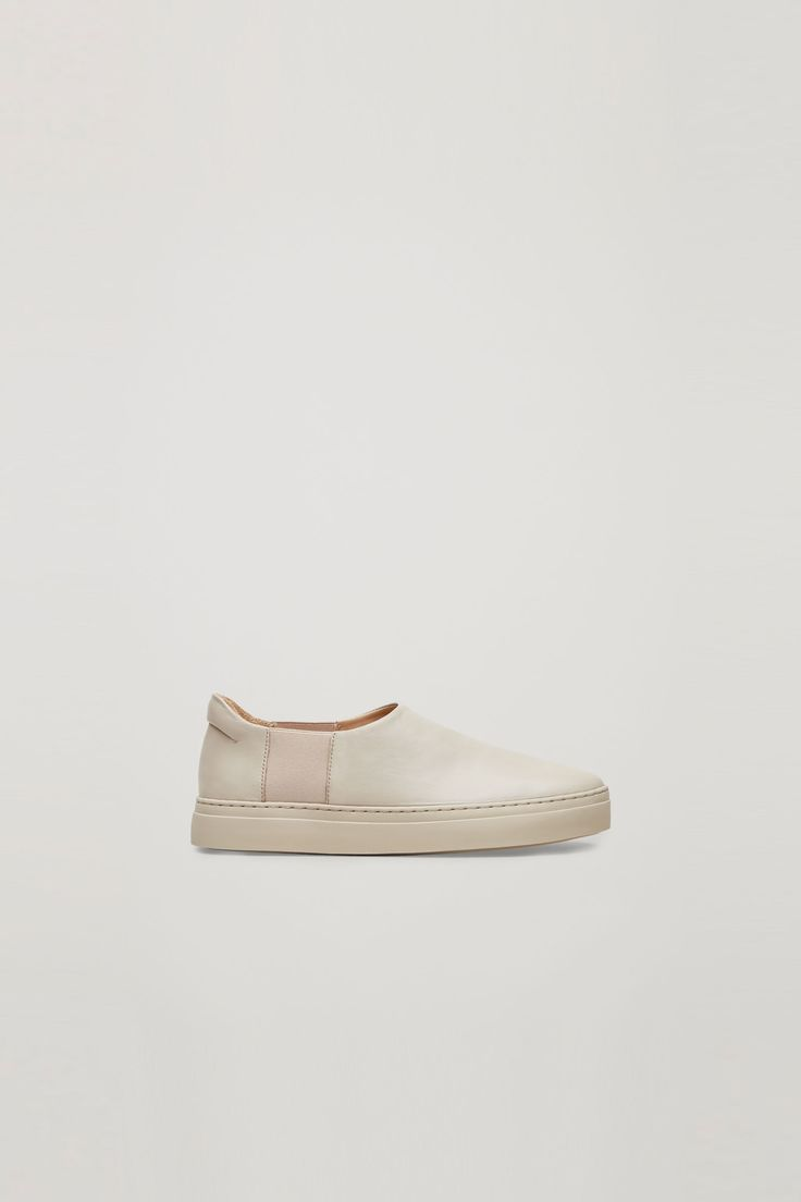 COS | Slip-on leather sneakers