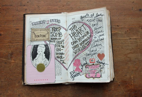 old book journal