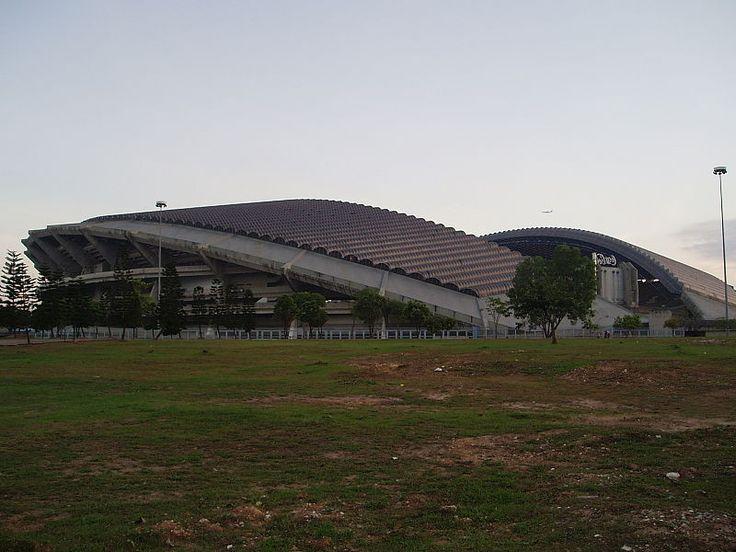 """""""Estádio Shah Alam"""". # Shah Alam, Selangor. Malásia."""