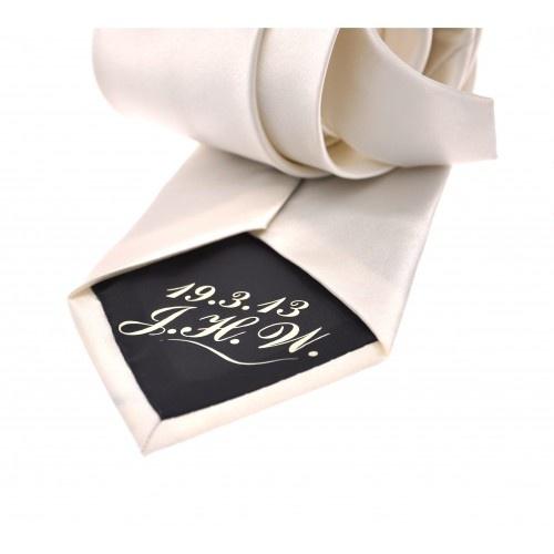 Secret Message Wedding Tie | The Letteroom