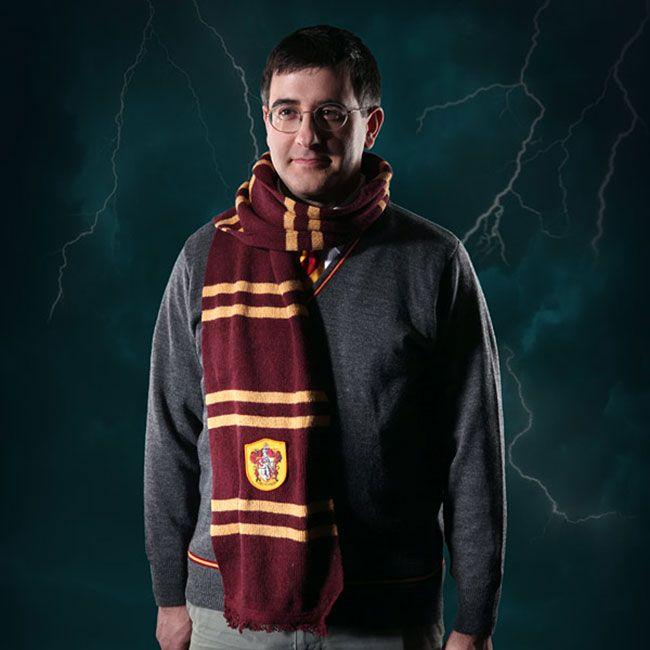 Настоящий шарф Гарри Поттера