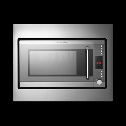 To round out the Electrolux cooking appliances, we went with the built-in microwave oven with convection and grill.
